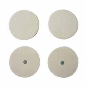 Magnet à décorer - Rond en bois x 4