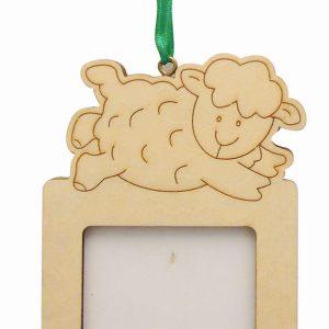 Cadre et magnet 10,5 x 6,5 cm - Mouton