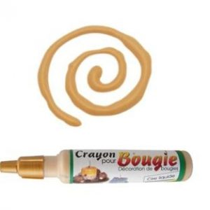 Crayon cire liquide pour décoration de bougie 30 ml