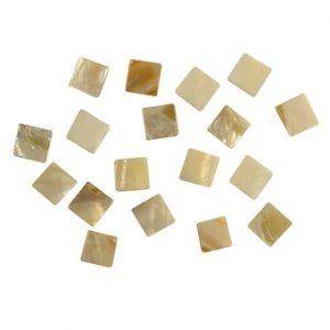 Mosaïque nacrée - Ronds 12 mm - 290 pièces