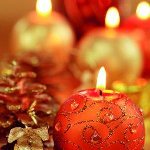 Déco de bougies