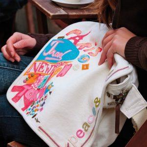 Peinture et feutres pour tissu