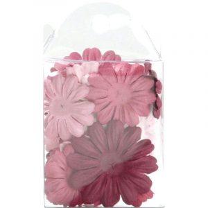 Fleurs en papier - Printemps x 24