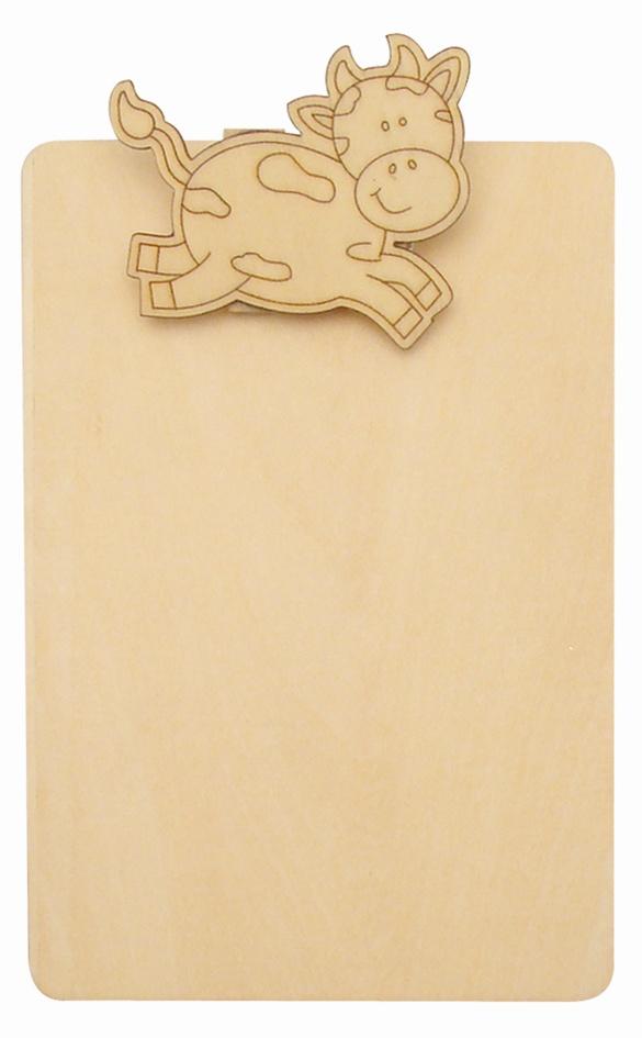 Bloc-notes 12 x 18 cm - Vache