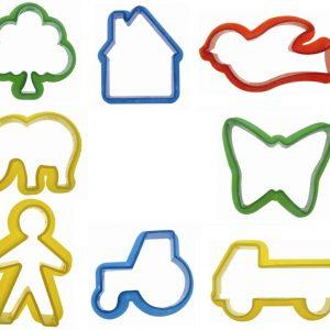 Emporte-pièces en plastique - Formes diverses