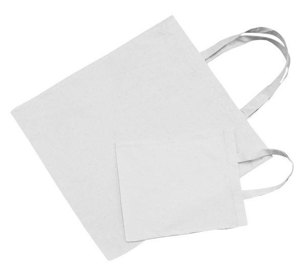 Sacs en coton non imprimés à décorer