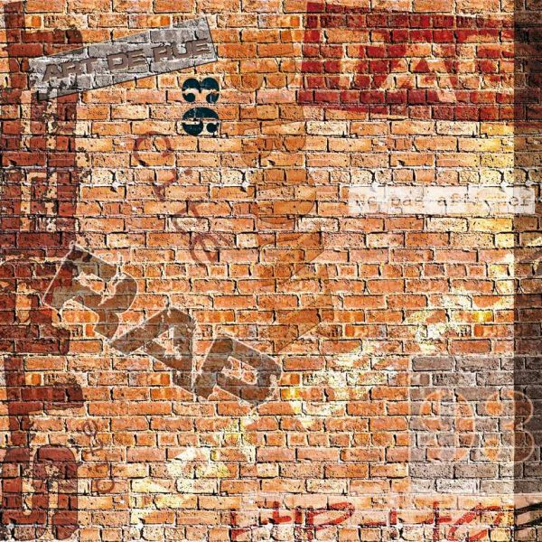 Papier scrapbooking et tags assortis – Arts de rue x 11 feuilles