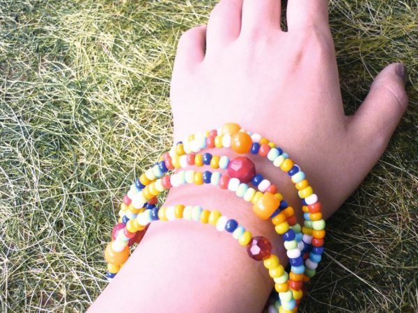 Fil mémoire de forme 5 tours - Bracelet