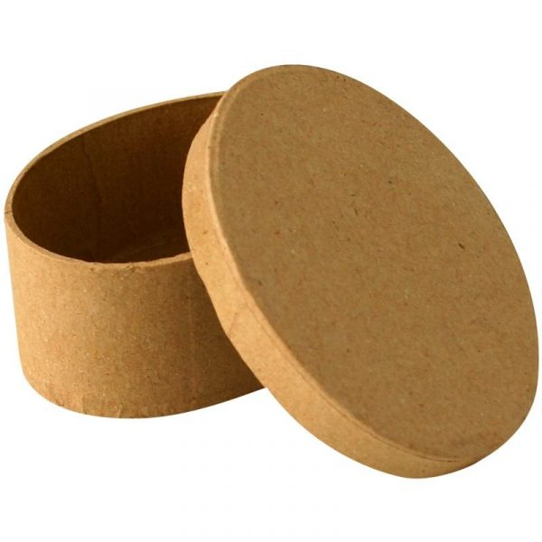Boîte en carton ovale – 9 cm