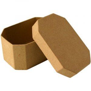 Boîte en carton octogonale – 9 cm