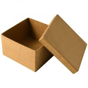 Boîte en carton carrée – 8,5 cm