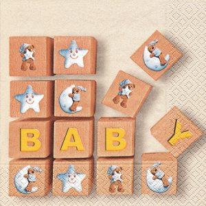 Serviette en papier - Baby