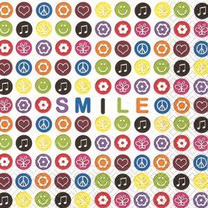 Serviettes en papier - Smile