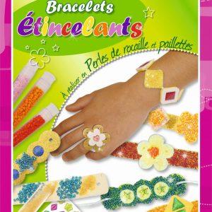 Kit de création de bijoux et bracelets étincelants