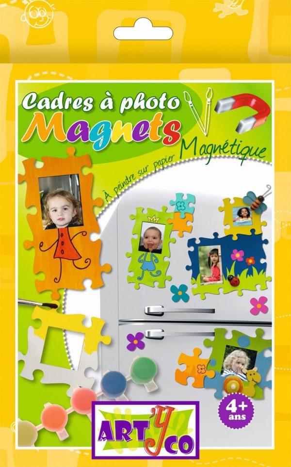 Kit de création de cadres photos magnétiques