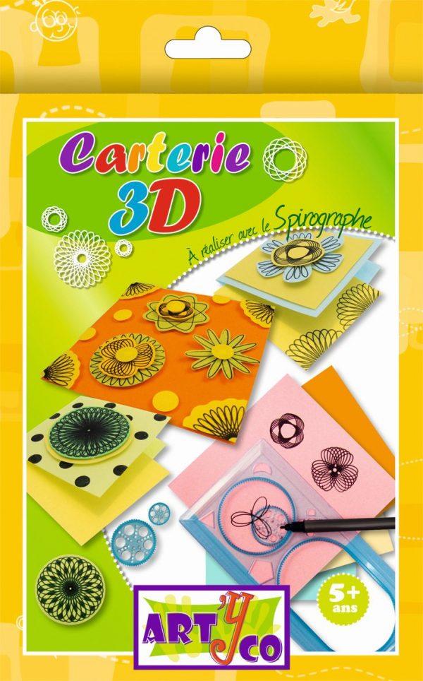 Kit de création Spirographe et carterie 3D