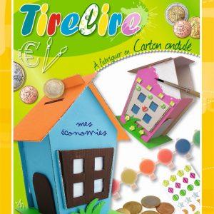 Kit Tirelire à fabriquer en carton ondulé