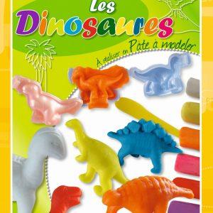 Kit de création de dinosaures en pâte à modeler