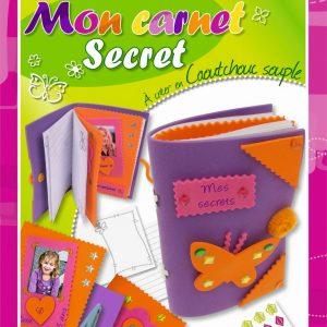 Kit Mon carnet secret - Caoutchouc souple
