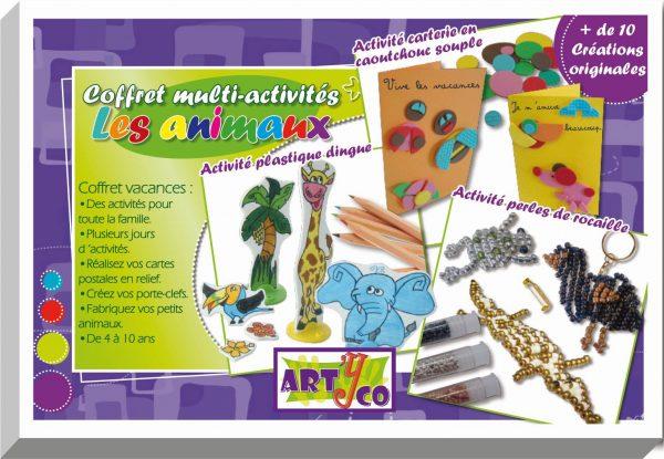 Coffret multi-activités - Animaux