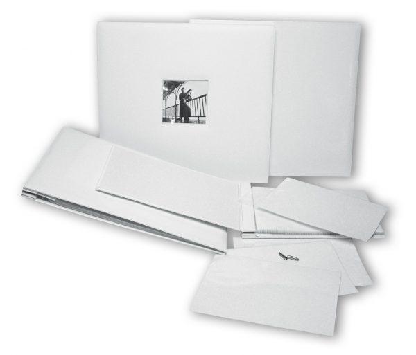 Album à fenêtre pour scrapbooking Ivoire - 32 x 35 cm