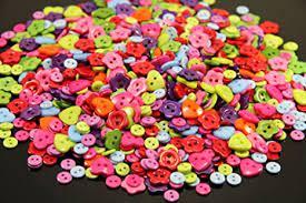 Assortiment de boutons - Carré, cœur, fleur x 36
