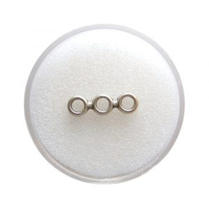 Bride de séparation en métal ronde