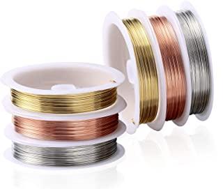 Fil câblé en métal - 5 m x 0,5 mm