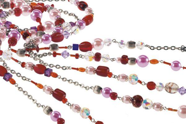 Assortiment de perles en verre