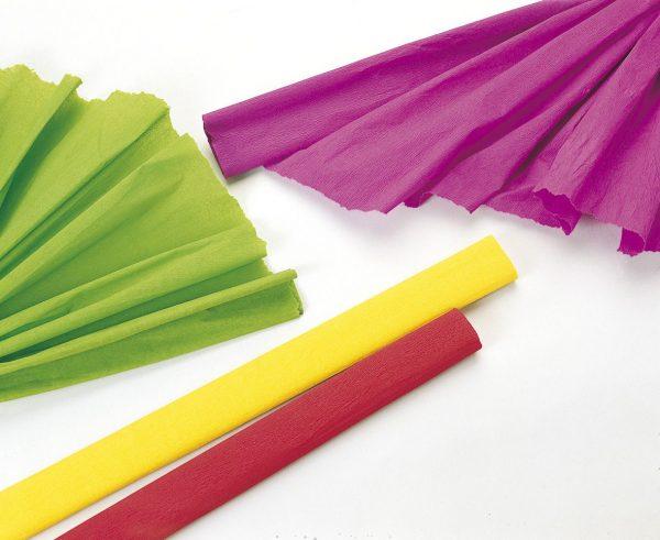 Papier crépon en rouleau