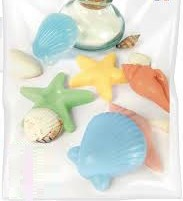 Kit petits savons coquillages