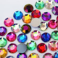 Strass acrylique rond
